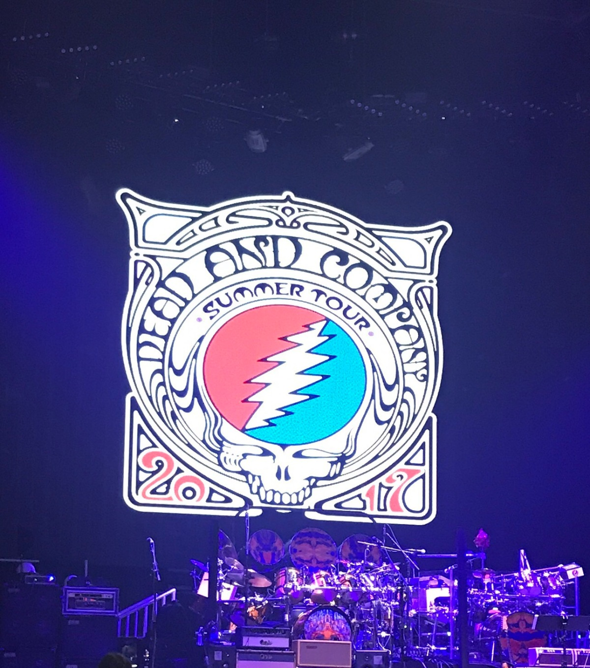 concert diaries | one night with dead and co