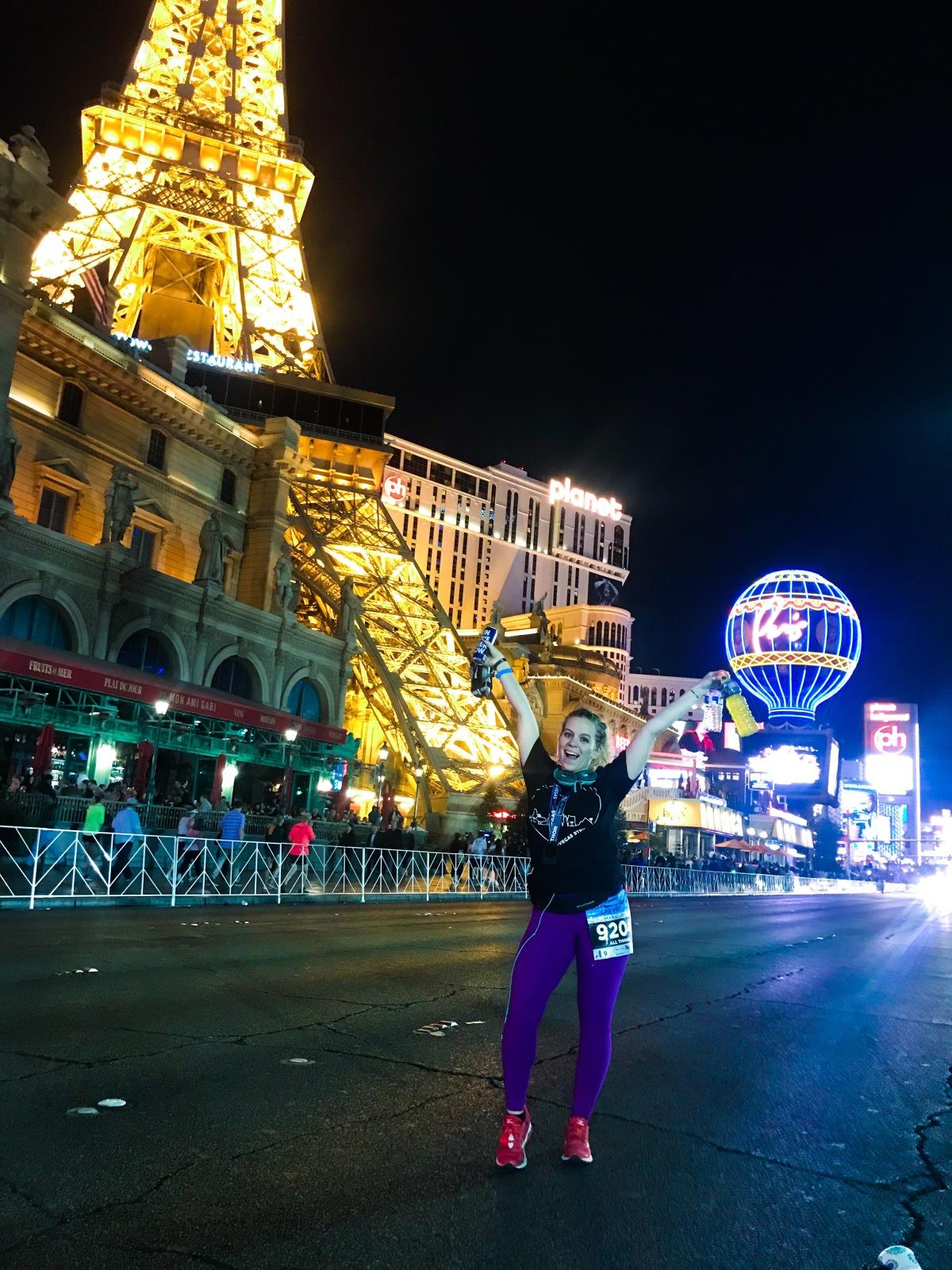 rock n roll marathon las vegas recap | marathonmonday